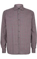 Corneliani Check Shirt - Lyst