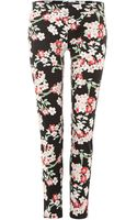 Armani Jeans Floral Print Trouser - Lyst