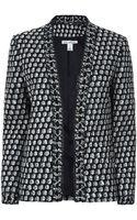 Oscar de la Renta Tweed Jacket - Lyst