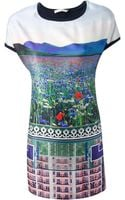 Mary Katrantzou Knipi Printed Dress - Lyst