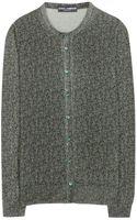 Dolce & Gabbana Printed Wool Cardigan - Lyst