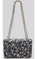 Tory Burch Shoulder Bag - Robinson Printed Lace Chain - Lyst