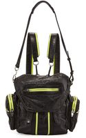 Alexander Wang Marti Mini Leather Backpack - Lyst