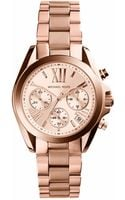 Michael Kors Bradshaw Rose Goldtone Stainless Steel Watch - Lyst