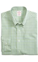 Brooks Brothers Noniron Regular Fit Gingham Sport Shirt - Lyst