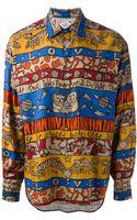 Jc De Castelbajac Vintage Printed Shirt - Lyst