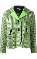 Carven Patterned Jacket - Lyst
