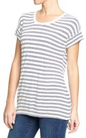 Old Navy Scoop Neck Button Back Tees - Lyst