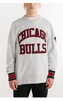 Mitchell & Ness Chicago Bulls Team Sweatshirt - Lyst