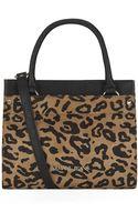 Armani Jeans Small Leopard Crossbody Bag - Lyst