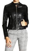 Diesel Jacket Leather Biker - Lyst