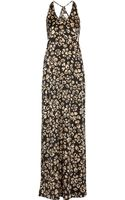 Thakoon Addition Printed Silk Blend Maxi Dress - Lyst