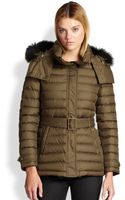 Burberry Brit Cornsdale Furtrimmed Jacket - Lyst
