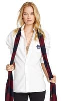 Polo Ralph Lauren Oversized Ellen Oxford Shirt - Lyst