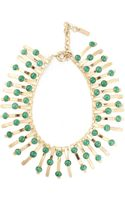 Etro Structured Jewel Necklace - Lyst