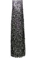 Katie Ermilio Florette Slip Tank Gown - Lyst