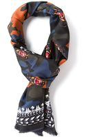 Givenchy Camouflage Scarf - Lyst