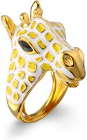 Kenneth Jay Lane  Giraffe Ring - Lyst