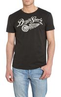 Denim And Supply Ralph Lauren Short Sleeve Crew Eagle Tyre Printed T Shirt - Lyst