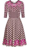 Temperley London Carissa Jacquardknit Dress - Lyst