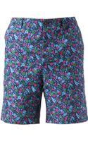 Sacai Floral Shorts - Lyst