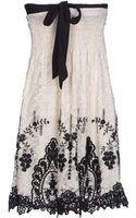 Raffaela D'angelo Short Dress - Lyst