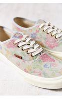 Vans Suede Floral Authentic Slim Womens Low-top Sneaker - Lyst