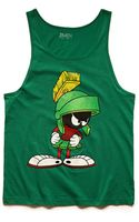 21men Marvin The Martian Tank Top - Lyst