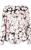 Marni Floral Blouse - Lyst