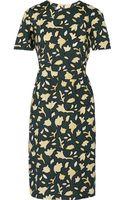 Marni Printed Cotton Dress - Lyst