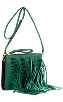 Marni Fringed Leather Shoulder Bag - Lyst