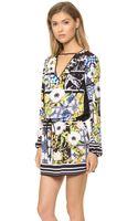 Clover Canyon Greek Tiles Long Sleeve Dress Multi - Lyst