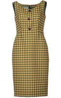 Prada Kneelength Dress - Lyst