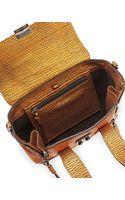 3.1 Phillip Lim Pashli Mini Metallic Satchel Bag Copper - Lyst