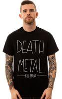 Kill Brand The Death Metal Tee - Lyst