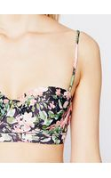 Free People Floral Clash Top - Lyst