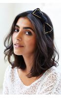 Urban Outfitters Studded Bow Headband - Lyst