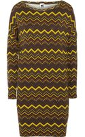 M Missoni Printed Jersey Dress - Lyst