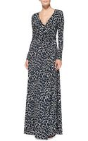 Rachel Pally Harlow Long Sleeve Printed Maxi Dress - Lyst