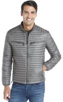 Marc New York Gunmetal Channel Quilted Nylon Down Filled Jack Lightweight Jacket - Lyst