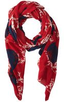 Marc By Marc Jacobs Kaipop Flower Scarf - Lyst