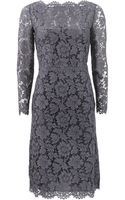 Valentino Lace Portrait Dress - Lyst