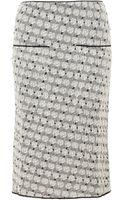 Sonia Rykiel Womens Small Roses Jacquard Skirt - Lyst