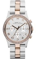 Marc By Marc Jacobs Womens Chronograph Henry Twotone Stainless Steel Bracelet Watch 40mm - Lyst