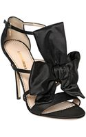 DSquared2 120mm Satin Bow Sandals - Lyst