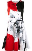 Prabal Gurung Abstract Printed Dress - Lyst