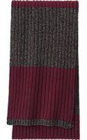 Uniqlo Men Heattech Knit Scarf Striped - Lyst