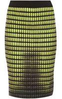 Alexander Wang Heat Tech Grid Skirt - Lyst
