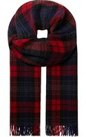 The Kooples Wool Cashmere Scarf - Lyst