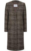Max Mara Denaro Tweed Coat - Lyst